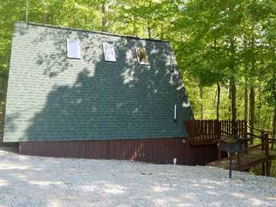Photo for Cedar A Frame Chalet Cabin 2 located on Patoka Lake in Southern Indiana