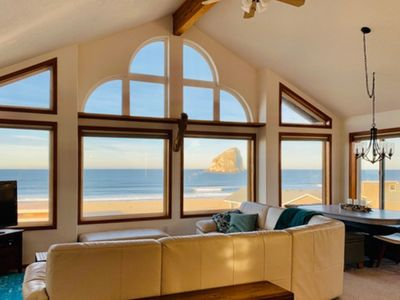 Photo for New listing! Waterfront home w/ ocean views, a furnished deck, & beach access