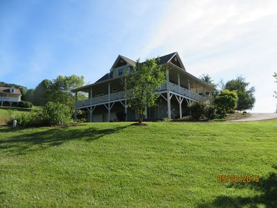 Photo for WAYNESVILLE BEAUTIFUL CRAFTMAN HOME ON QUIET 2 ACRES WITH AWESOME MOUNTAIN VIEWS