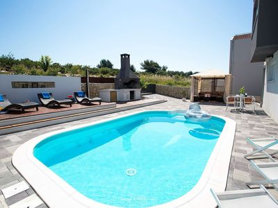 Photo for Modern villa with private pool in Zadar