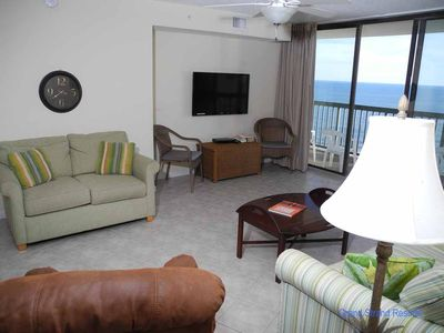 Photo for Ocean Bay Club Oceanfront Unit 1202! 4 Bedroom Gorgeous Condo. Book your get away today!
