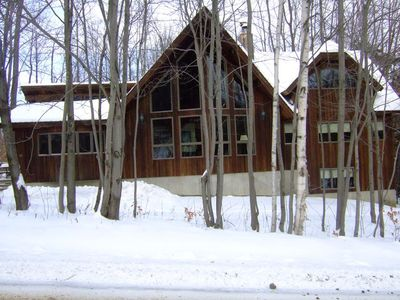 Photo for GORGEOUS TRAILSIDE HOME! SKI-IN/SKI-OUT