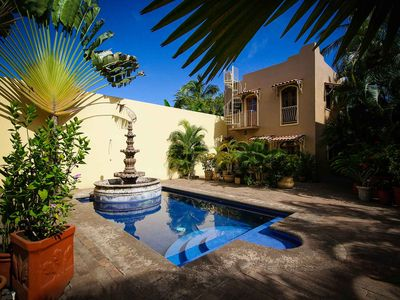 Photo for Casa Julia - 1 private casa and shared pool, walk to the beach - San Pancho