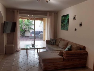 Photo for Charming villa in Etang-Salé les Bains, in residential area