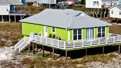 Photo for Seafari - Cozy Seaside Beach Cottage just a walk to the Gulf.