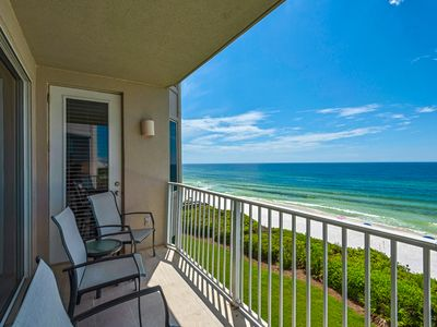 Photo for Lovely Gulf Front Condo in Seacrest Beach ~ Large Balcony ~ Gorgeous Views!