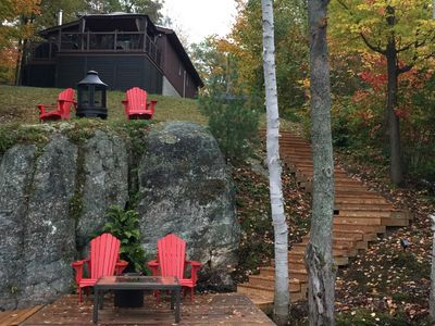 Photo for Modern Spotless Waterfront Cottage 10 mins from Parry Sound, On