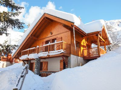 Photo for Superb Ski Chalet In Alpe D'Huez / Oz-En-Oisans Resort