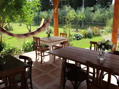 Photo for Country house in the countryside for groups and families, in the heart of the Maremma, 15 km from the sea