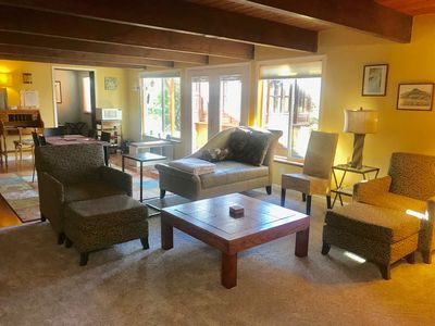 Photo for Olympic Sunset Retreat guest suite-roomy 2BR, 1 bath, hot tub, 6 min to HWY 3