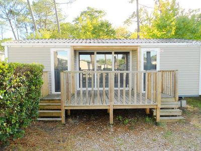 Photo for Camping Les Viviers **** - Mobil Home Privilege TV 3 Rooms 2 sdb 4/6 People