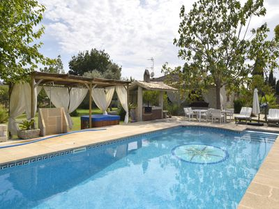 Photo for Cozy country house with panoramic views, pool and jacuzzi in Selva