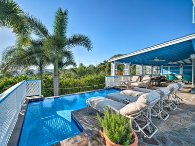 Photo for NEW! Airy Nevis Home w/Private Pool & Ocean Views!