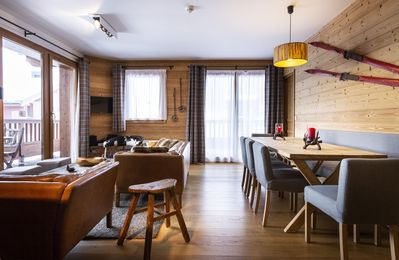 Photo for Residence Miravidi -Roc Black - Stylish Apartments high in the Alps