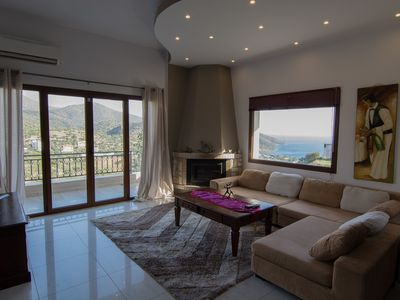 Photo for Sea view and mountain view 3 bedroom house, free WiFi