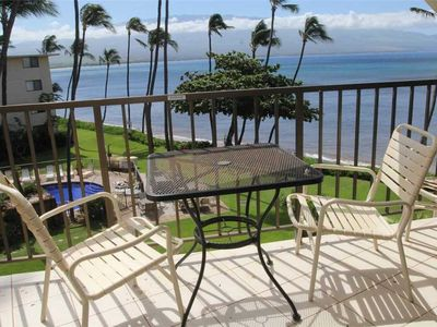 Photo for Maui Ocean Front Ma'alaea Condo—Great Views and Value; 2BR/2BA Sleeps 6