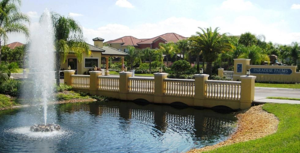 Paradise Palms Resort - 4BD/3BA Town Home Near Disney - Sleeps 8 - Gold - RPP454, Accommodation for 8 people