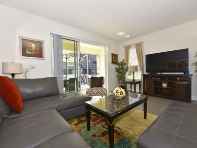 Photo for Enjoy Orlando With Us - Silver Creek - Feature Packed Relaxing 3 Beds 3 Baths Townhome - 4 Miles To Disney