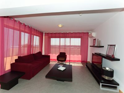 Photo for Luxury Two Bedroom Apartment with Terrace and Ocean View in Oceano Atlantico