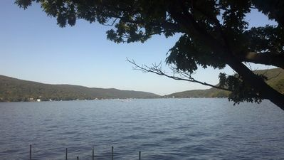 Photo for Rocky Point- Aboslutely the BEST Location on Greenwood Lake! 1 hour from NYC.