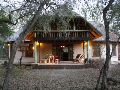 Photo for Sadadu holiday house bordering Kruger National Park,  Free wifi