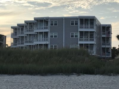 Top third floor unit to the right that is closest to the beach.