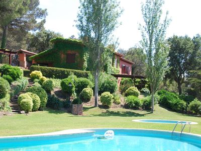 Photo for Nice house with private garden and shared pool in the pleasant Llafranc