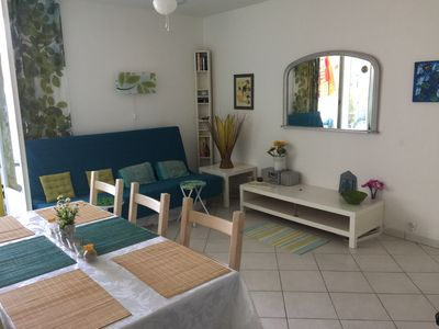 Photo for ENJOY YOUR BEACH HOLIDAY 5 PERSON  CLEAN AND AIRY APPT  100 M FROM BEACH