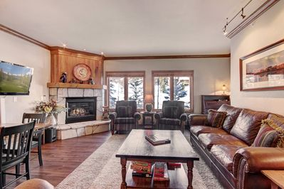 Enjoy time with your family and friends in this spacious living room.