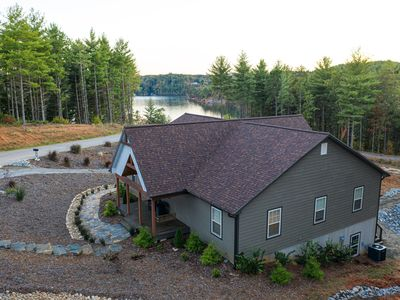 Photo for Lake James Waterfront with Dock, Pool, Kayaks and Paddle Boards!
