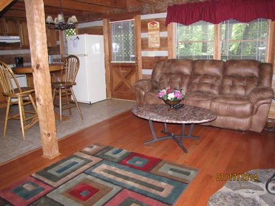 Photo for SWEET 1BR 1.5-BATH -- $99/NITE! /PKWY CLOSE! /WIFI/!  HOT TUB! /NESTLED IN MTNS!