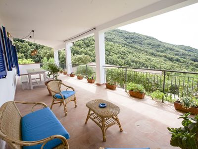 Photo for Jolie apartment near the beautiful bay of Nisportino