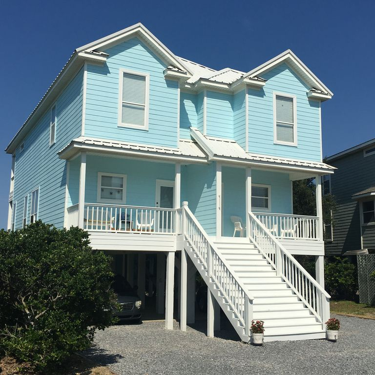 Gulf Shores Beach House Rentals With Pool: The Big Blue Beach House 5 Star Reviews! ...