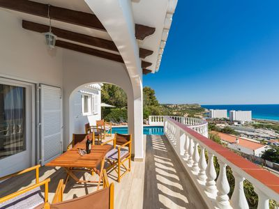 Photo for Stunning sea view and pool – Villa Amoura