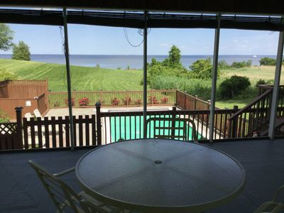 Photo for Eagles Nest   Beach house. Quit, private, great views water access