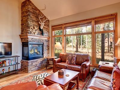 Photo for Fantastic Breckenridge Colorado Vacation Home. Luxury in the pines and spectacular skiing nearby on