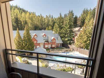 Photo for Whistler Mtn Base in Creekside at Lake Placid Lodge - Whistler Creekside Condo, Pool & Hot Tub, Walk to Mtn (Unit 403)