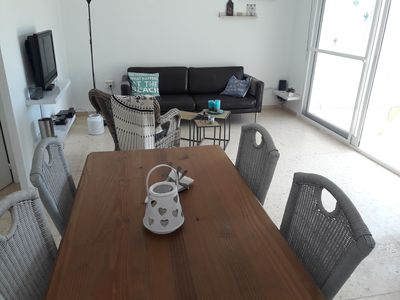 Photo for Tastefully decorated house with WiFi, air conditioning and communal pool.
