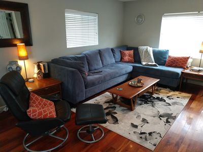Photo for Beautiful Modern Town home 2 blocks to the Beach!