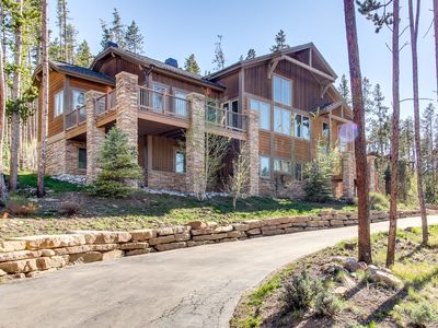 Photo for Mountain views from luxury home w/hot tub, game room, & more
