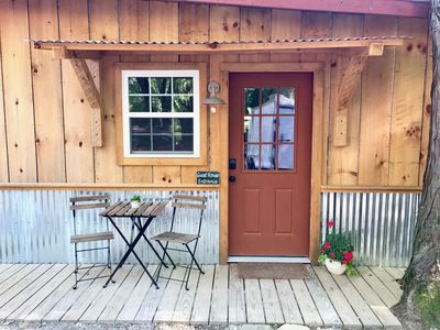 Photo for Tiny House on Luna Ranch Updated Modern, Lakes, Canoes, Hiking, Clean