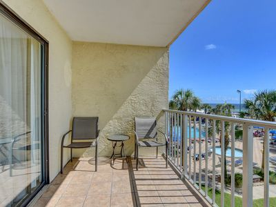 Photo for Enjoy the sounds of the Gulf Of Mexico - Desirable Lower-Floor  1 bedroom condo