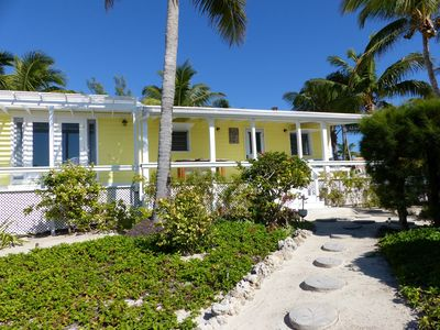 Photo for Sandcastle is 2 BR, 2 bath Bahamas cottage, with sea to sea access.