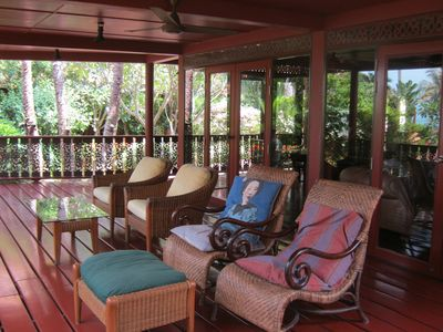 Covered Ground Floor Terrace, Ideal for relaxing