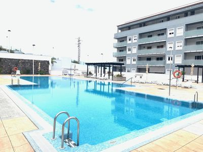 Photo for BEAUTIFUL APARTMENT, SEA VIEWS, POOL, BBQ, GYM