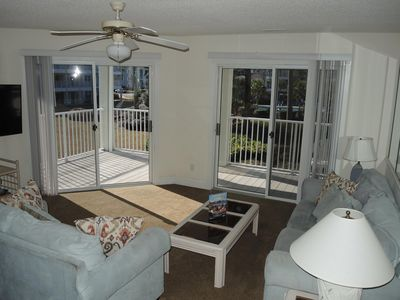 Photo for Full Kitchen, 2 Bedroom, 2 Bath at Brunswick Plantation and Golf.  Short drive to beaches(1204)