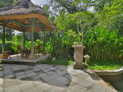 Photo for 1 BR Villa near Ubud with a private plunge pool and a living area incl breakfast