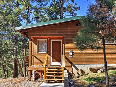 Photo for 'Canyon Ridge' Ruidoso Cabin w/ Private Hot Tub!