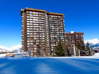 Photo for One bedroom Apartment, sleeps 4 in Le Corbier with Pool and WiFi
