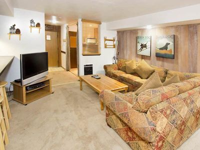 Photo for Perfect condo for families w/ shared indoor pool, hot tub & rec room- on shuttle route!